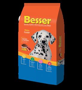 Besser Carnes e Cereais Cães Filhotes