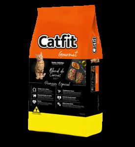 Catfit Gourmet Blend de Carnes Gatos Adultos