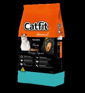 Catfit Gourmet Peixe Gatos Adultos