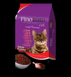 Finotrato Cat Seleções de Carnes Gatos Adultos