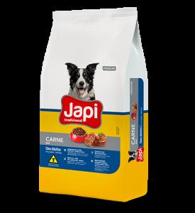 Japi Tradicional Carne Cães Adultos